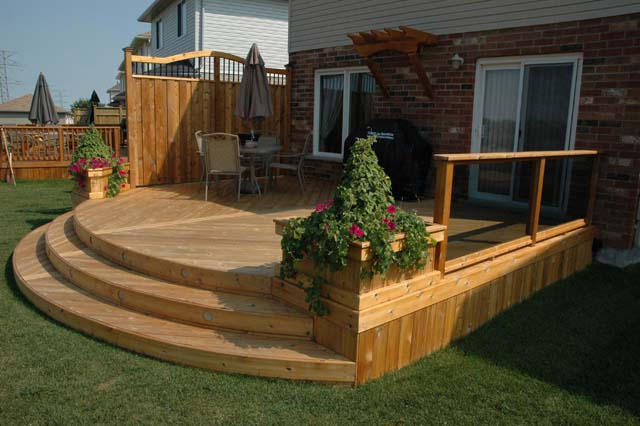 How To Build A Planter Box Using Decking
